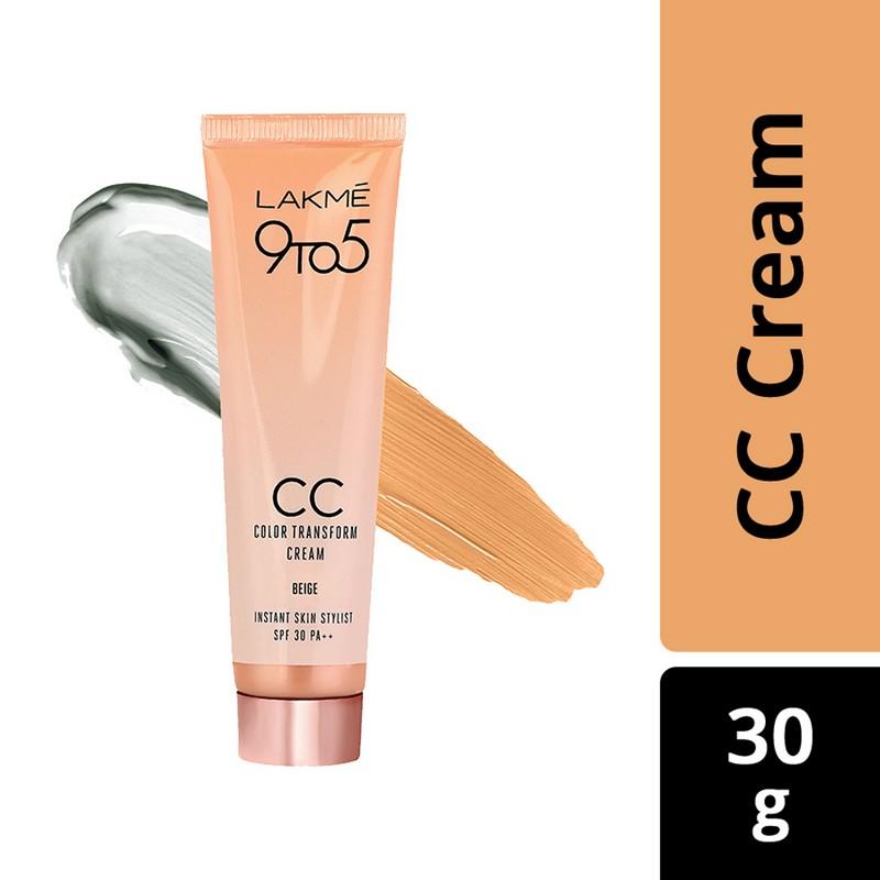 Lakme Complexion Care Color Transform Face Cream Beige 30gm