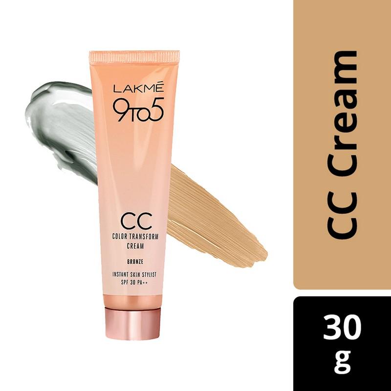 Lakme Complexion Care Color Transform Face Cream Bronze 30gm