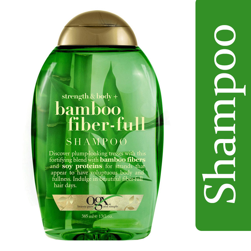 Organix Strength & Body Bamboo Fiber Full Shampoo 385ml