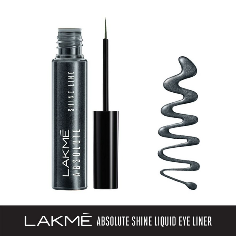 Lakme Absolute Shine Line Eyeliner Steel Grey 4.5ml