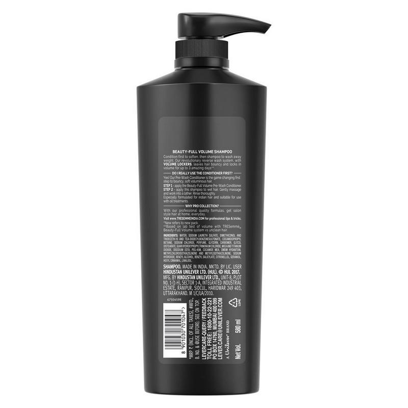 TRESemme Beauty Full Volume Shampoo 580ml