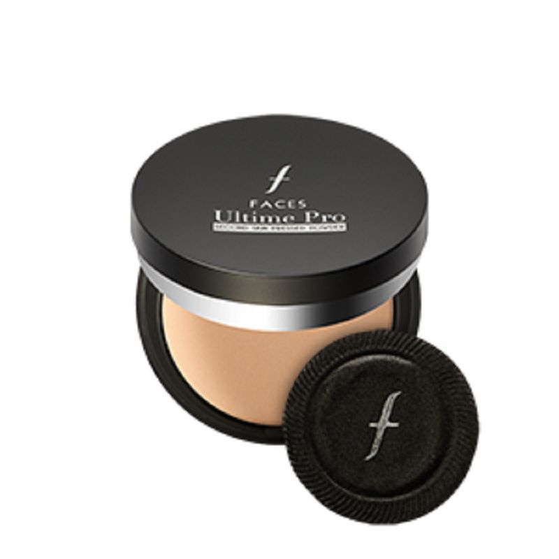 FACES Canada Ultime Pro Second Skin Pressed Powder SPF15 Natural 02 9gm