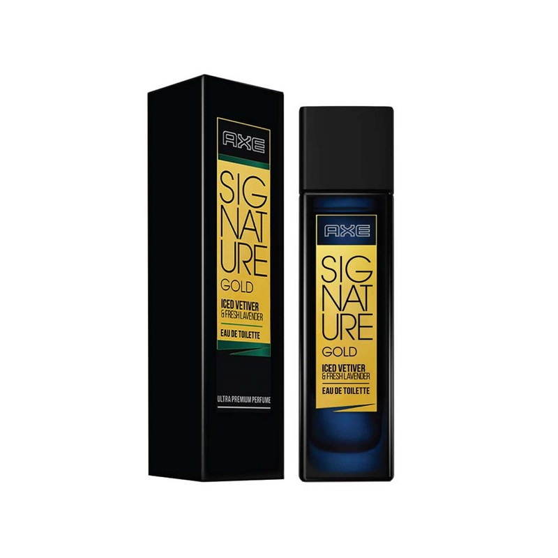 AXE Signature Gold Iced Vetiver & Fresh Lavender Perfume 80ml