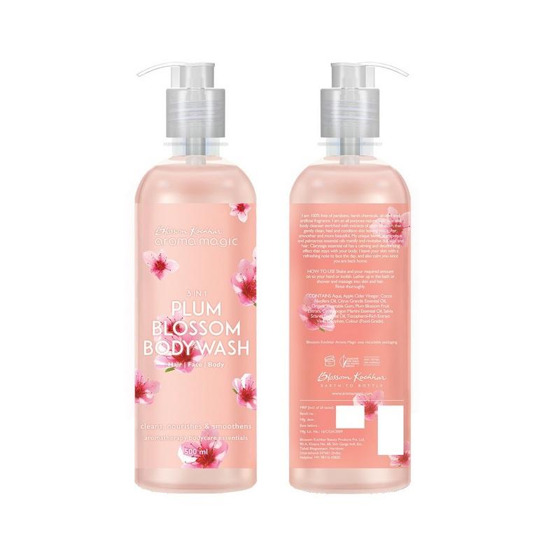 Aroma Magic Plum Blossom Hand & Body Wash 220ml