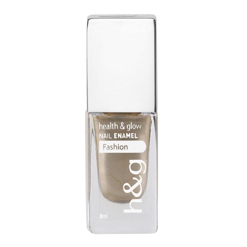 Health & Glow Fashion Nail Polish Chrome Gold Peach