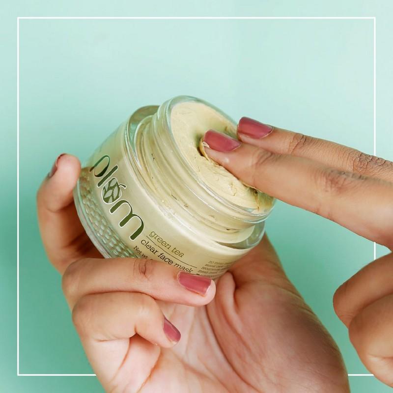 Plum Green Tea Clear Face Mask 60gm