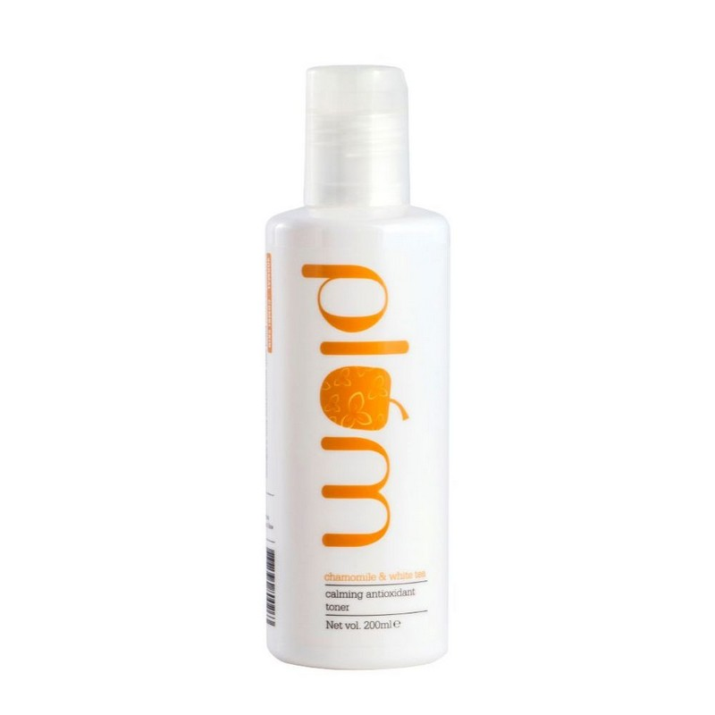 Plum Chamomile & White Tea Calming Antioxidant Toner 200ml