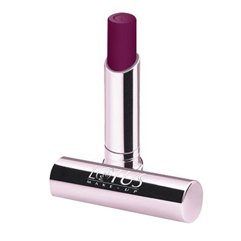 LOTUS ECOSTAY Long Lasting Lip Colour Purple Chic 453