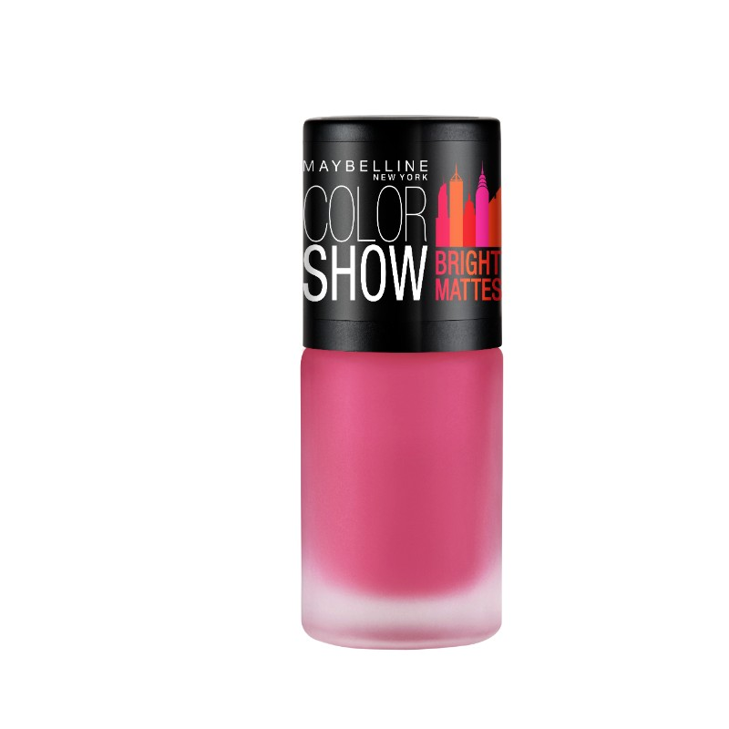 Buy Maybelline New York Color Show Bright Mattes Nail Color Fiery ...