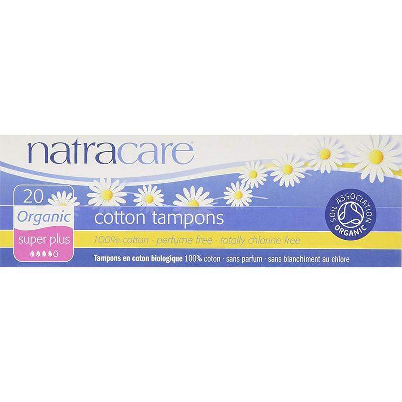 Natracare Cotton Tampons Super Plus 20S