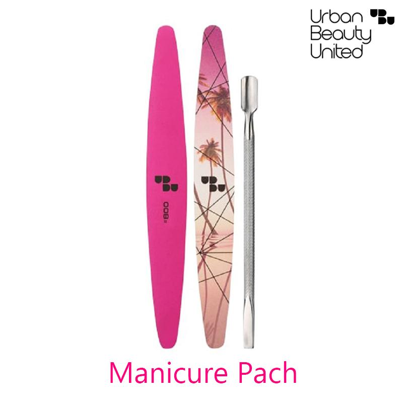 Urban Beauty United Fame & Nail Manicure Pach Shape It Buff It Push It