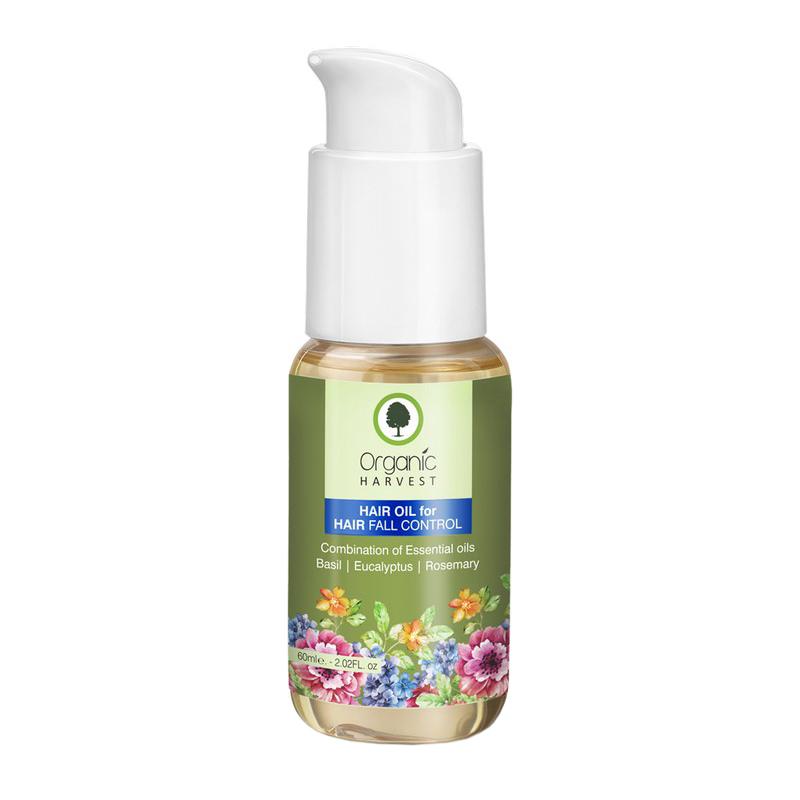 Organic Harvest Hair Fall Control Oil 50ml