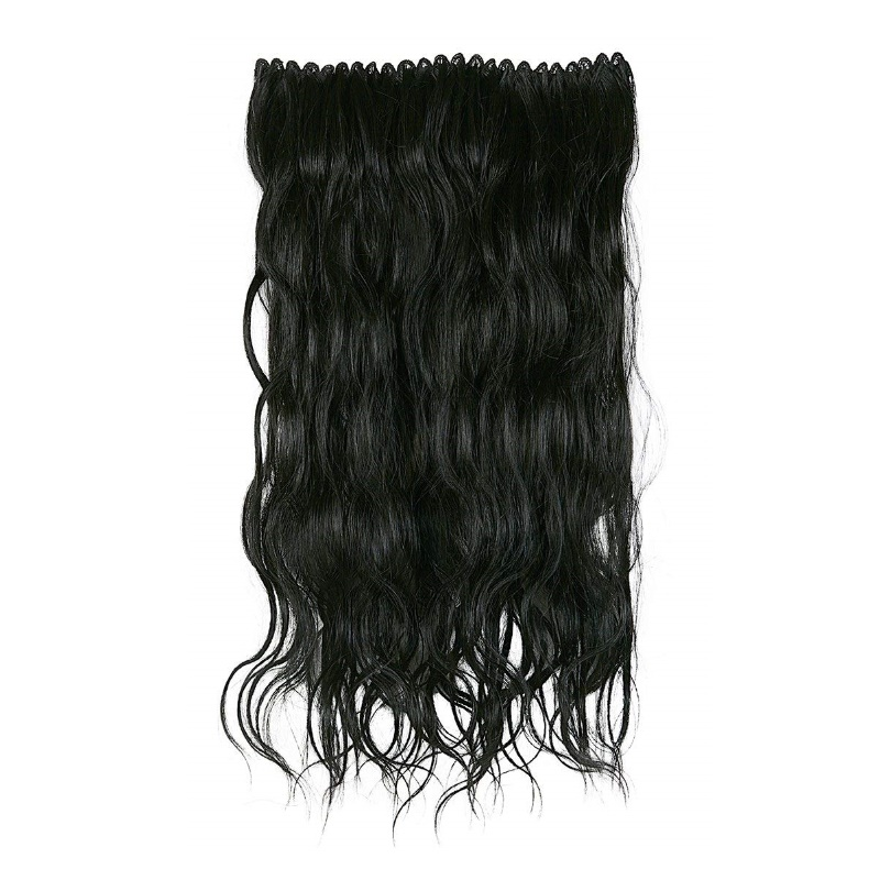 BBlunt B Long Length & Volume Clip In Hair Extension Dark Brown