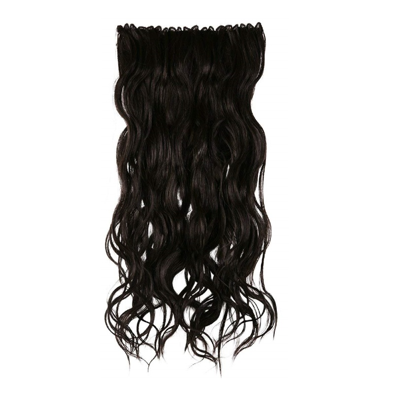 BBlunt B Long Length & Volume Clip In Hair Extension Light Brown
