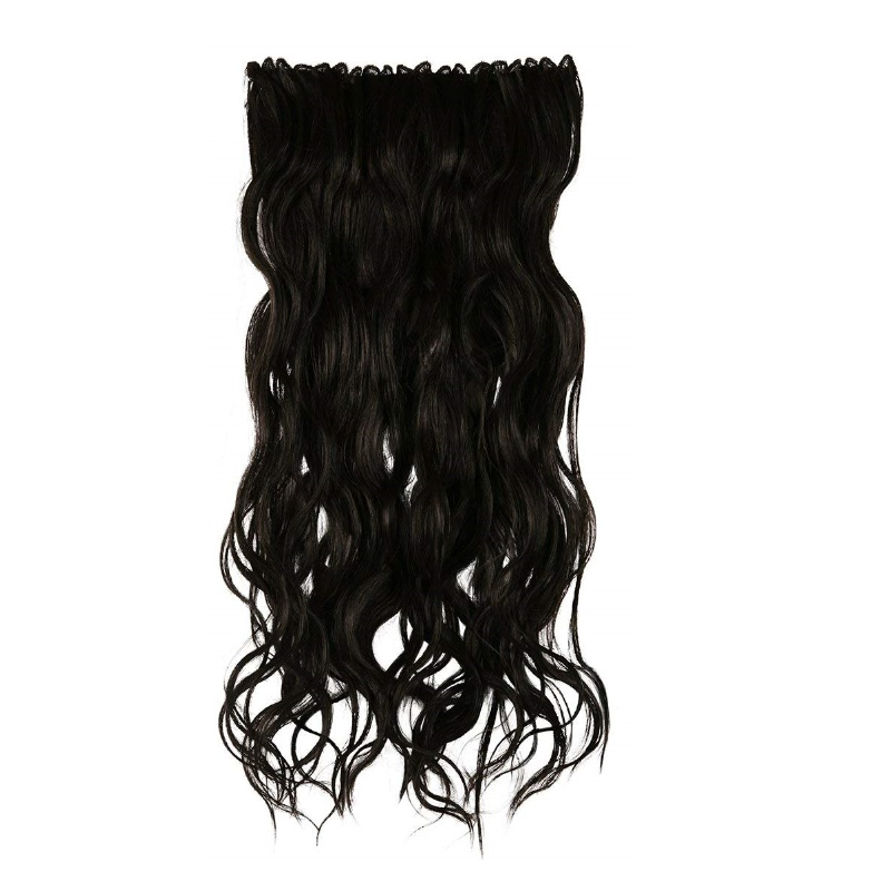 BBlunt B Long Length & Volume Clip In Hair Extension Natural Brown