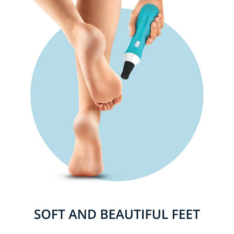 Scholl Express Pedi Electronic Hard Skin Remover For Feet