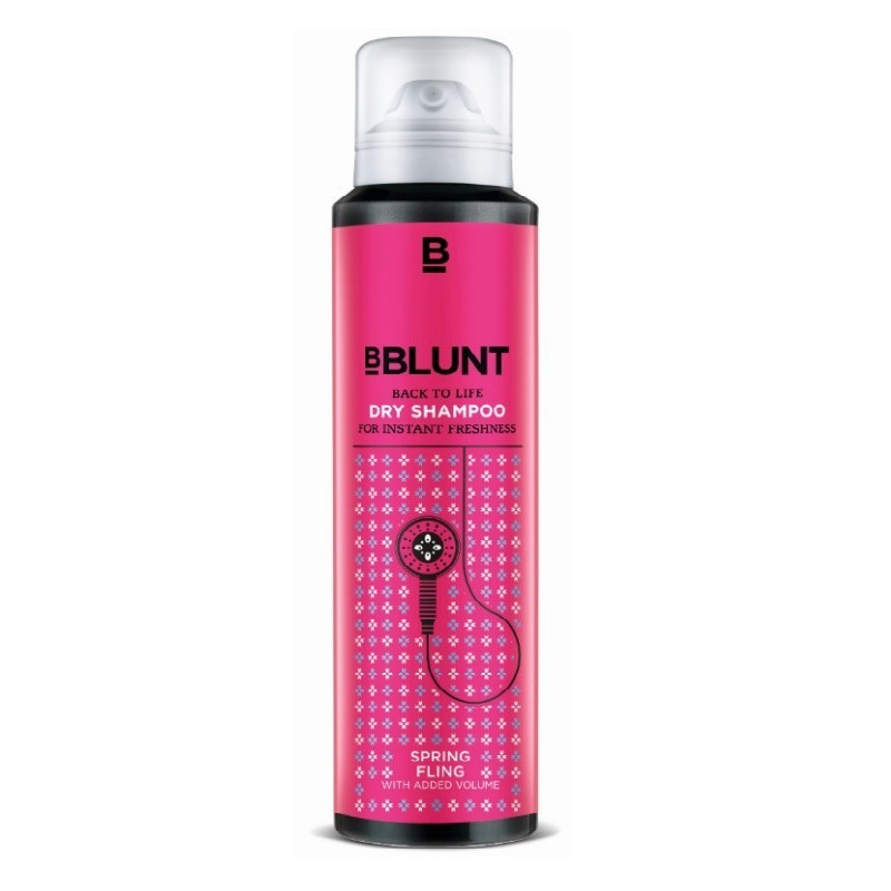 BBlunt Back To Life Dry Shampoo For Instant Freshness Spring Fling 125ml