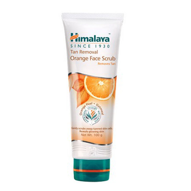Himalaya Tan Removal Orange Face Scrub 100ml