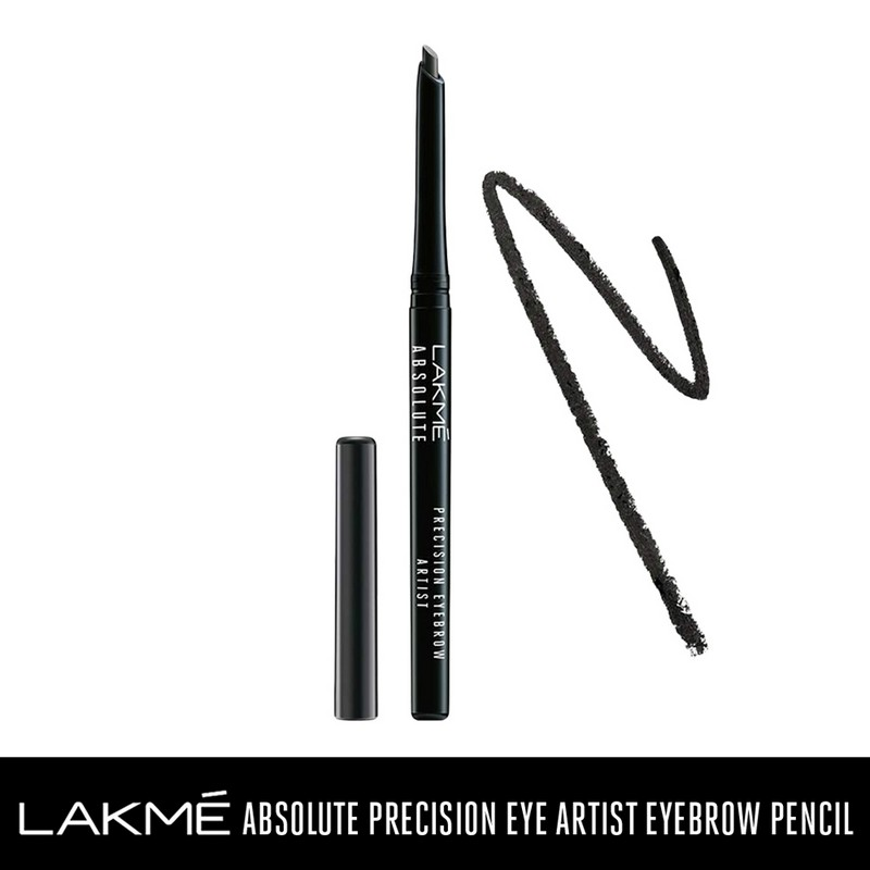 Lakme Absolute Precision Eye Artist Eyebrow Pencil Natural Black 0.35gm