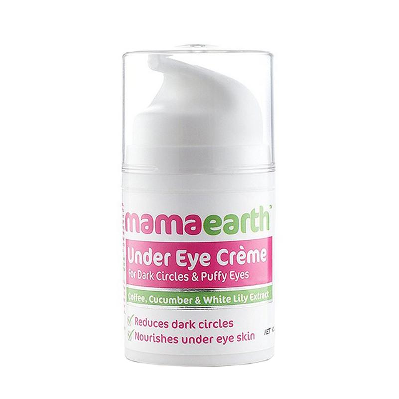 Mama Earth Under Eye Cream For Dark Circles & Puffy Eyes 50ml
