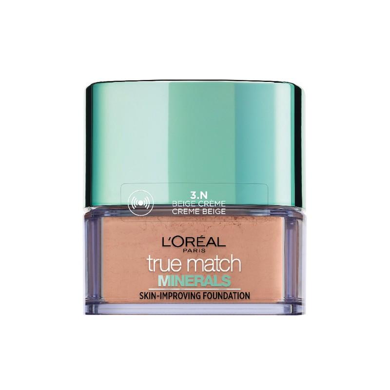 L'Oreal Paris True Match Minerals Skin Improving Foundation Creme Beige 3N