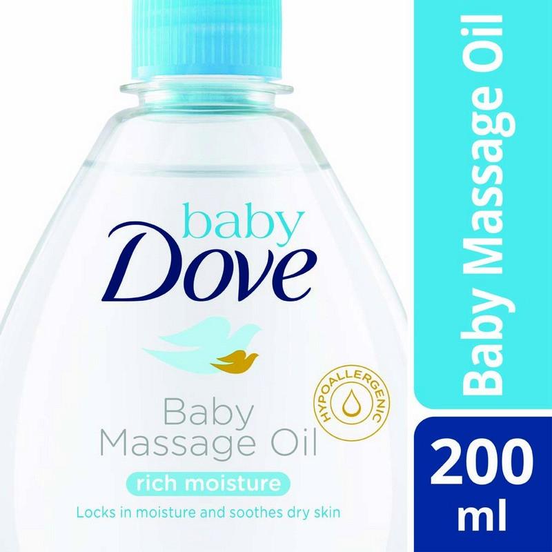 Baby Dove Rich Moisture Massage Oil 200ml
