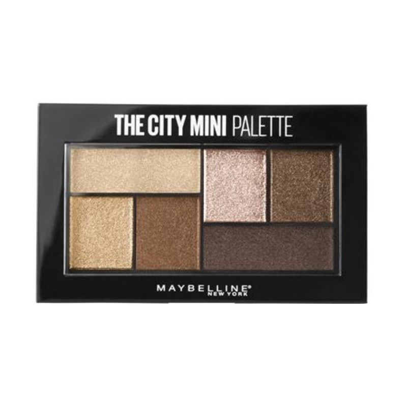 Maybelline New York The City Mini Eyeshadow Palette Rooftop Bronzes 400