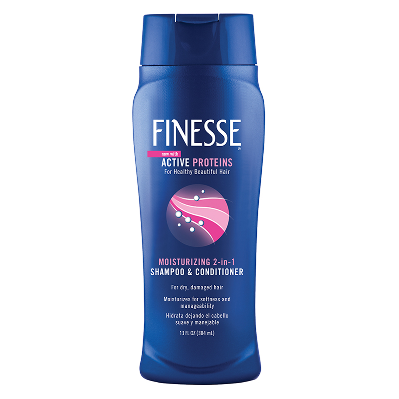 FINESSE Moisturizing 2 In 1 Shampoo And Conditioner 13 Ounce