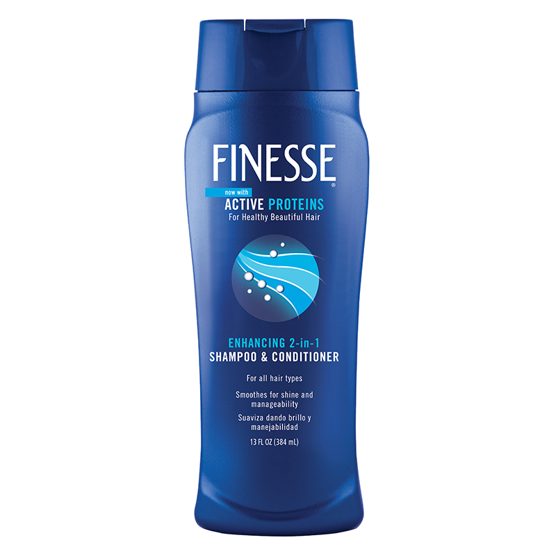 FINESSE Normal 2 In 1 Shampoo And Conditioner 13 Ounce