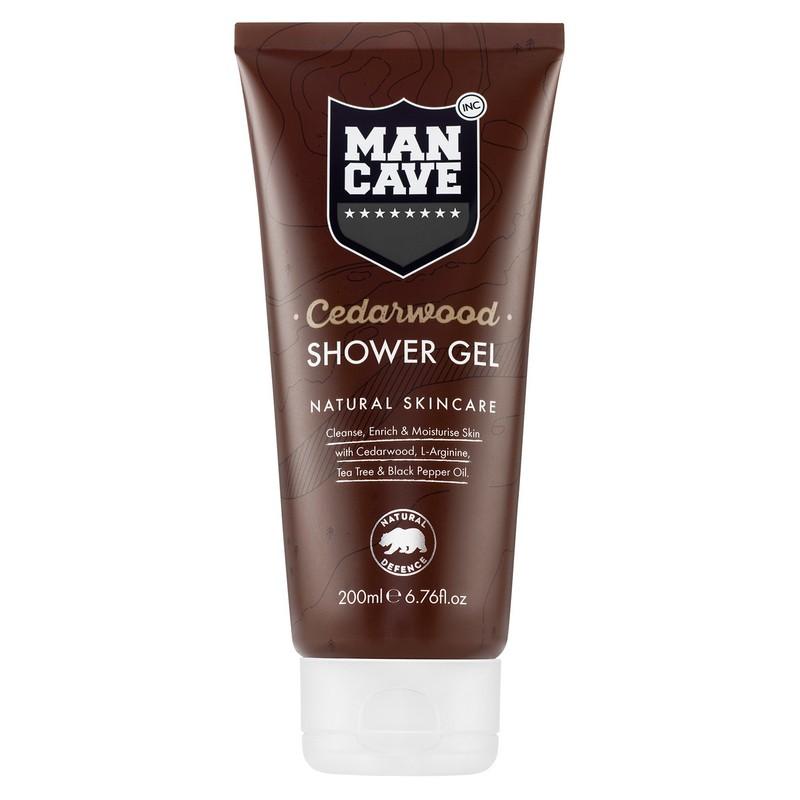 Mancave Cedarwood Shower Gel For Men 200ml