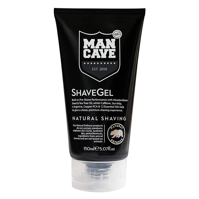 ManCave Shave Gel Natural Shaving 150ml