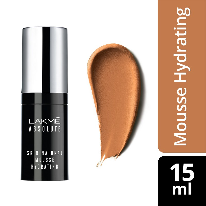 Lakme Absolute Skin Natural Hydrating Mousse Nat Cinnamon 15ml