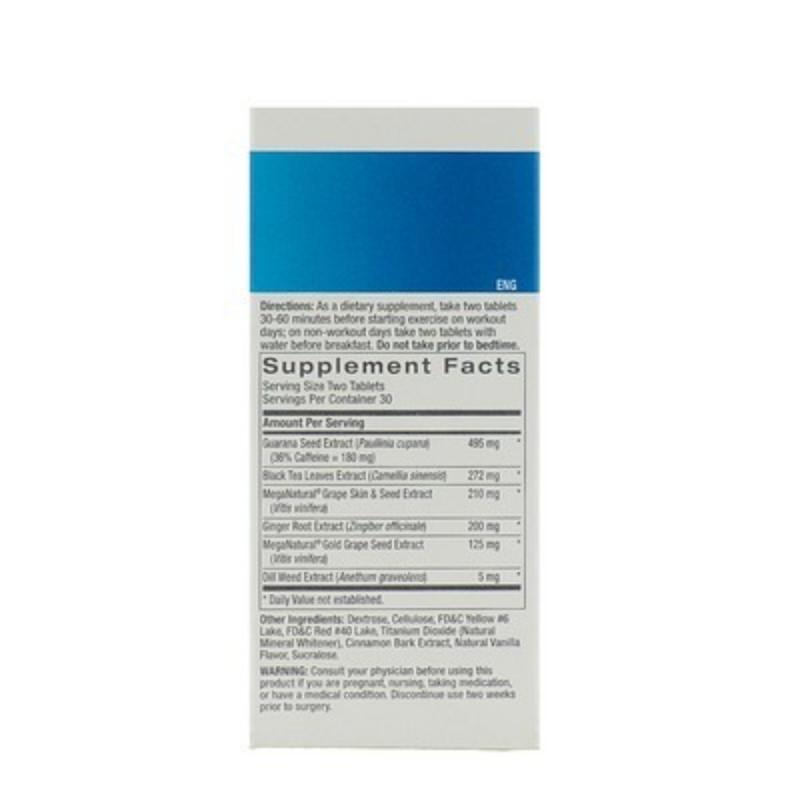 GNC Total Lean Burn 60 Cinnamon Flavoured Tablet 60T