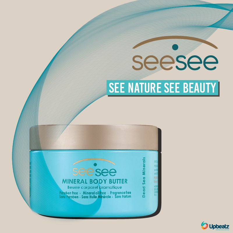 Seesee Dead Sea Mineral Body Butter 250ml