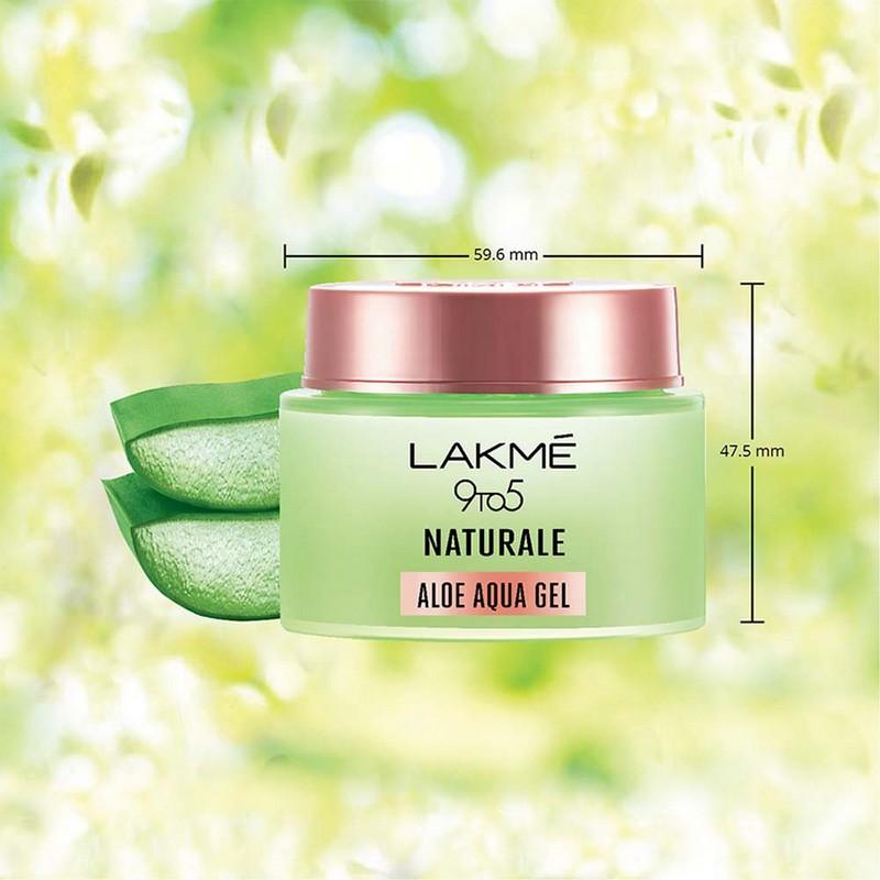 Lakme 9 To 5 Naturale Aloe Aqua Gel 50gm