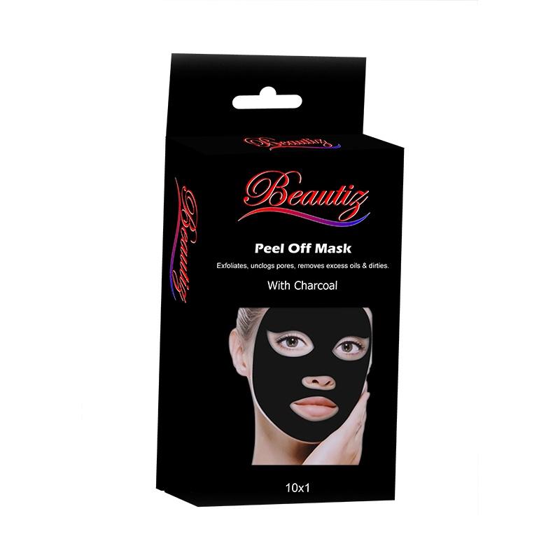 Beautiz Peel Off Mask With Charcoal 10 In 1 Sachet