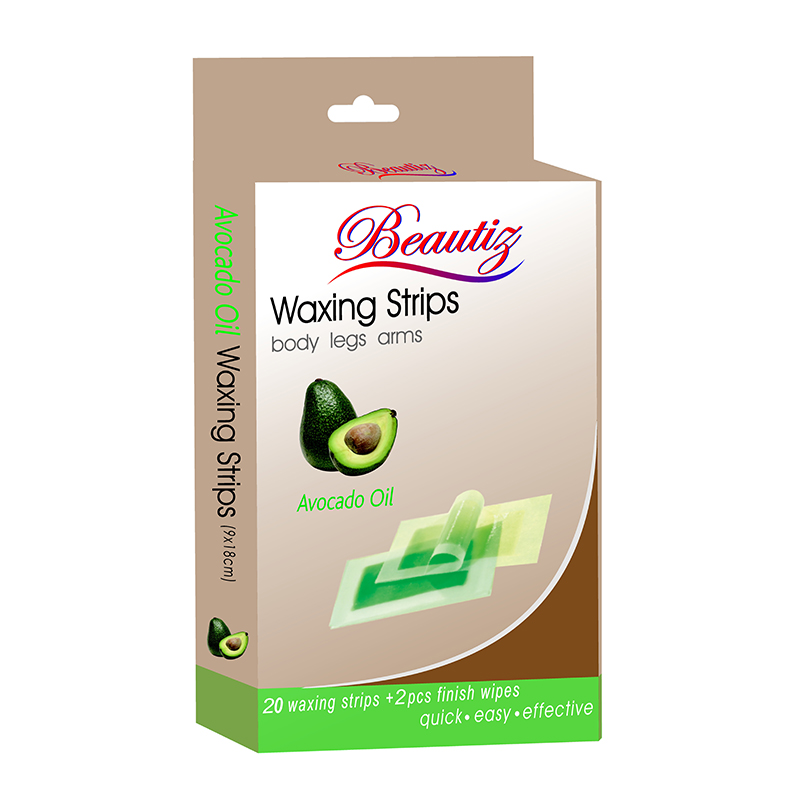 Beautiz Waxing Strips For Body, Legs & Arm Pack Of 20