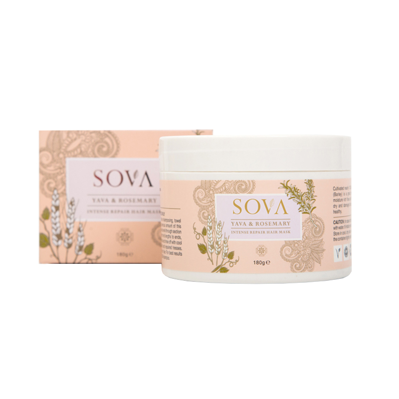SOVA Yava & Rosemarry Intense Repair Hair Mask 180gm