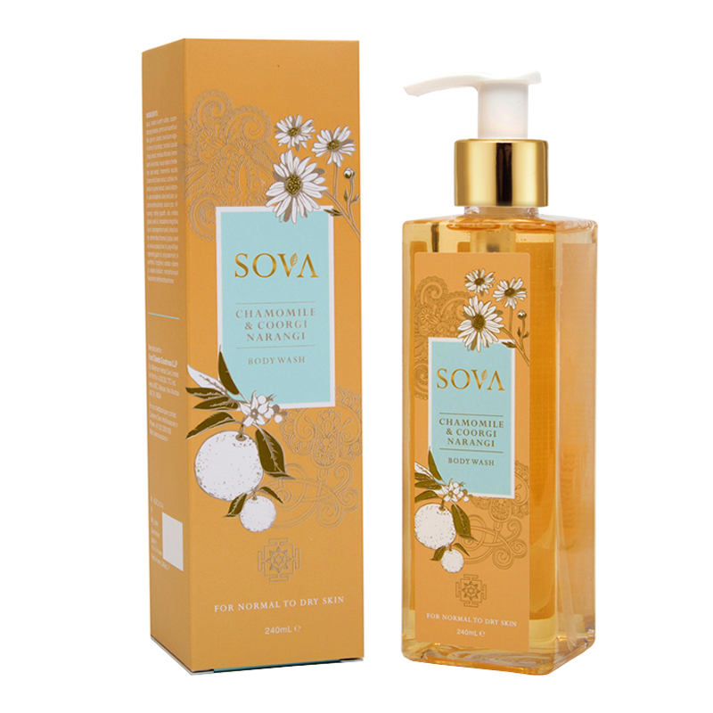 SOVA Chamomile & Coorg Narangi Body Wash 240ml