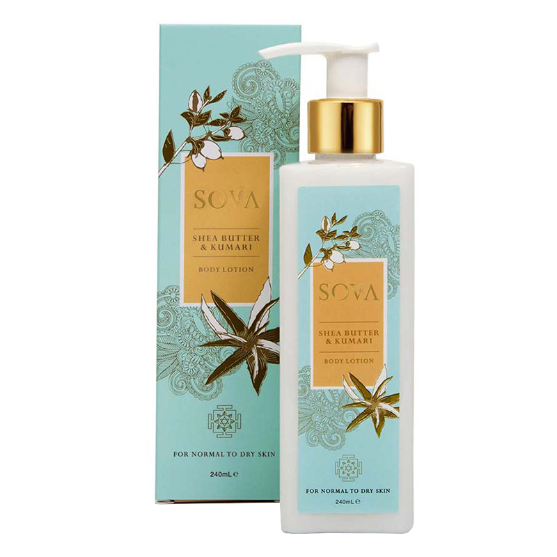 SOVA Shea Butter & Kumari Body Lotion 240ml