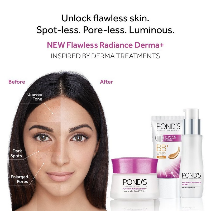 POND'S Flawless Radiance Derma+ BB Cream Tube Beige 25gm