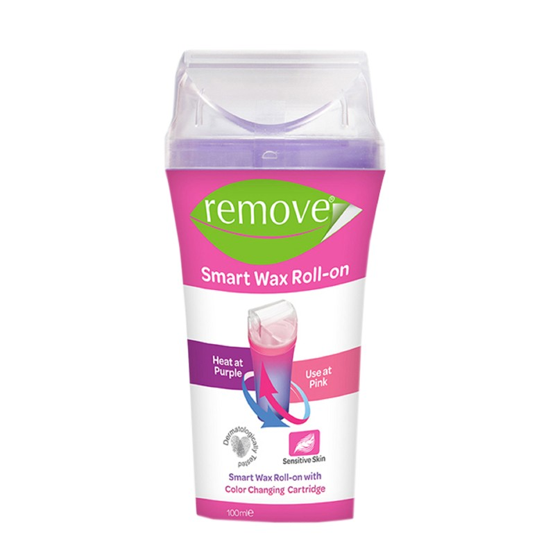 Remove Smart Roll-On Waxing For Sensitive Hair