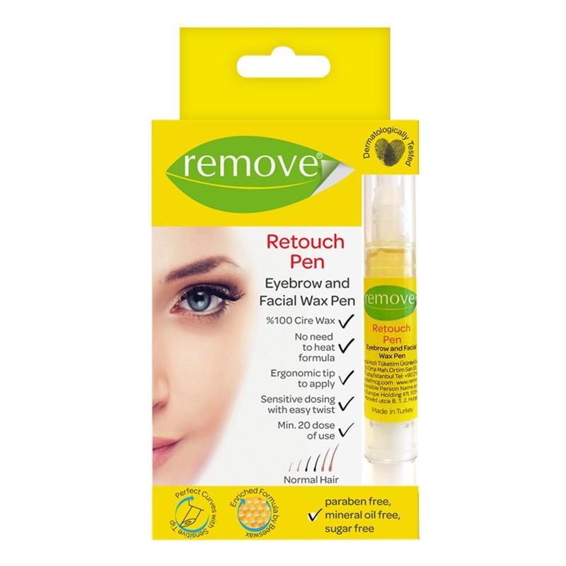 Remove Retouch Eyebrow & Facial Wax Pen