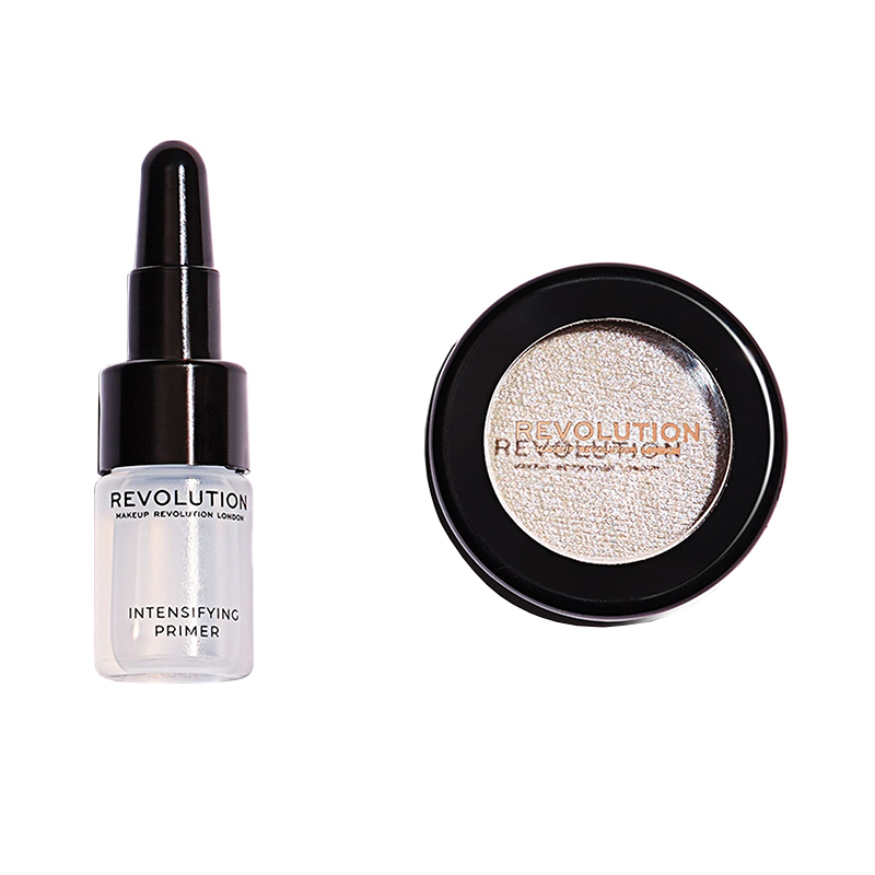 Makeup Revolution London Flawless Foils Metallic Eyeshadow & Intensifying Primer Unicorn Foil