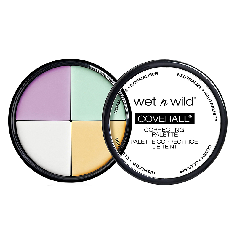 Buy Wet n Wild CoverAll Correcting Palette Color Commentary | Health & Glow