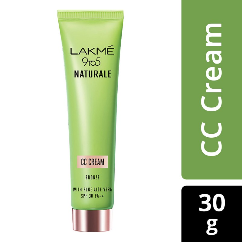 Lakme 9 To 5 Naturale CC Cream Bronze 30gm
