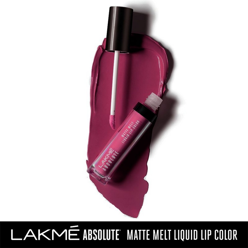 Lakme Absolute Matte Melt Liquid Lip Colour Mulberry Feast 6ml