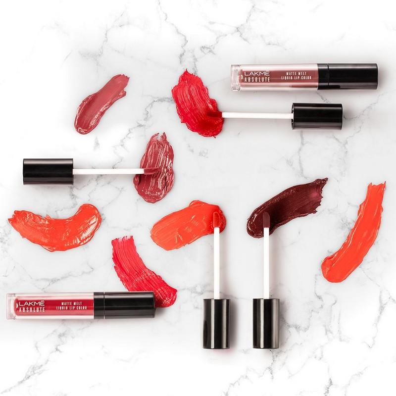 Lakme Absolute Matte Melt Liquid Lip Colour Red Smoke 6ml