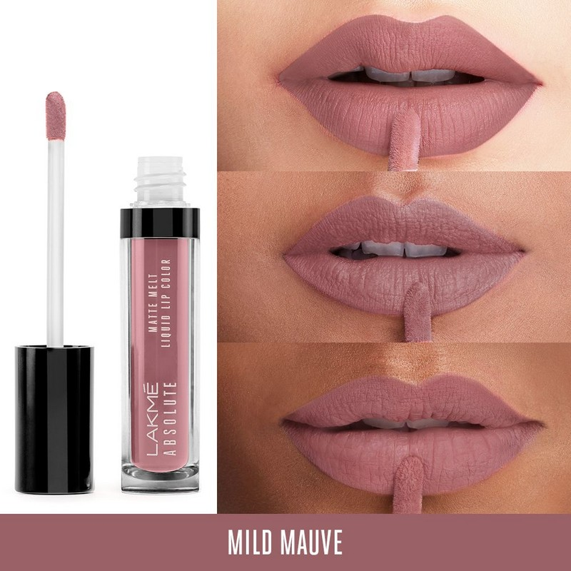 Lakme Absolute Matte Melt Liquid Lip Colour Mild Mauve 6ml
