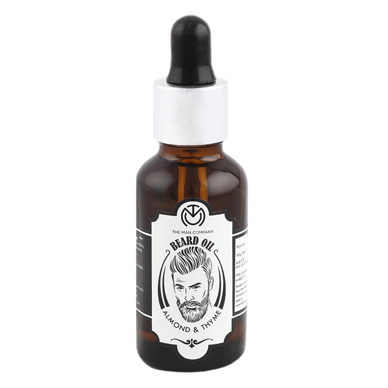 The Man Company Beard Oil Almond & Thyme 30ml